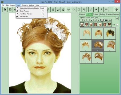 Prime Software Hair Pro Hairstyle Imaging Software Short Hairstyles Gunalazisus